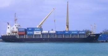 File A Reef Shipping Vessel: Photo credit Reef Shipping