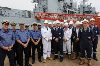 File The RFA Argus Team: Photo credit A&P Shipyards