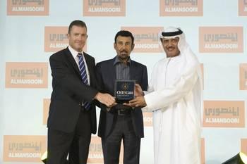 File R-HE Khamis Juma Buamim, Chairman_of DDW & MW receiving the Award