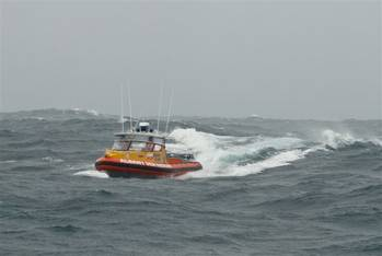 File RIB in storm, Image by Murray Martin