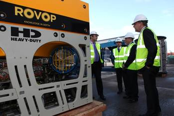 File Energy Minister Views ROVOP ROV