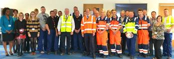 File RT Hon Stephen Hammond MP and London Gateway Team