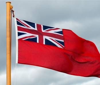 File Red Ensign: Image courtesy of Maritime UK