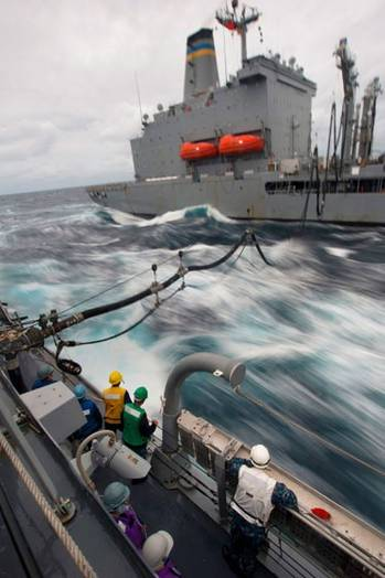 File Refuelling at Sea: Photo courtesy of NRL
