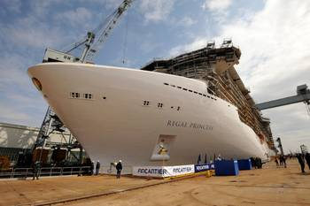 File Regal Princess: Photo credit Fincantieri