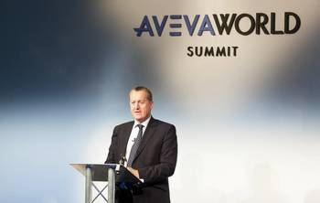 File at the AVEVA World Summit, Copenhagen