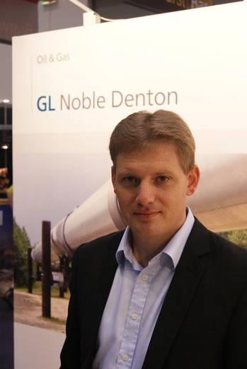 File Richard Palmer, GL Noble Denton's country manager for Australia.