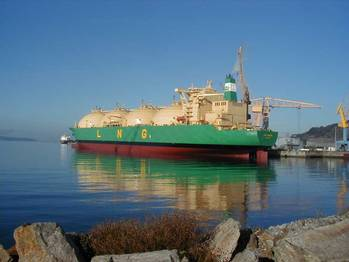 File Bonny Gas Transport-owned, 79,822 DWT 'LNG SOKOTO'