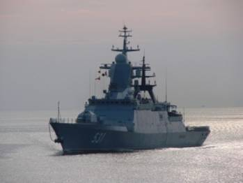 File Russian Navy  Project 2-380 corvette: Photo credit Russian Navy
