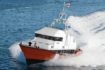 File Canadian Coast Guard SAR Lifeboat: Photo courtesy of Robert Allan