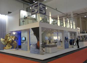 File Schottel's booth (stand 306, Hall A 4) at SMM 2014 (Photo: Schottel)