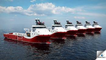 File Dual-fuel Platform Supply Vessels: Image courtesy of Wärtsilä