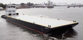 File new-build 140' x 40' deck barge, SIGNET 141