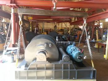 File S Series Barge Haul winch
