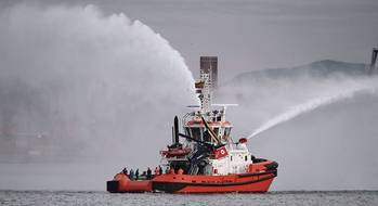 File St Elmo, the latest RAmparts 3000W Class tug designed by Robert Allan Ltd. of Vancouver, Canada.