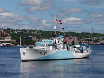 File Photo credit HMCS Sackville Trust