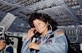 File Sally Ride: Photo credit NASA