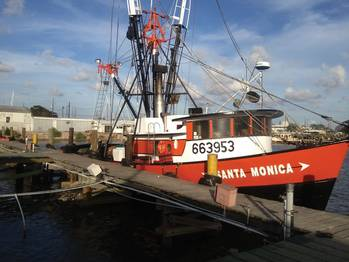 File Zimco Marine saved $40,000 per engine per boat in fuel costs after repowering two shrimp boats with twin Volvo Penta D13 engines.