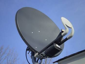 File Satellite receiver: File photo