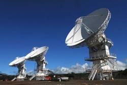 File USN Satellite Dishes: Photo credit USN