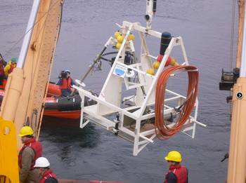 File VENUS SIIM Being Deployed: Photo courtesy of OceanWorks