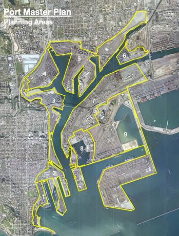 File Port Planning Area: Image credit Port of LA