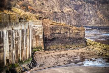 File Seawall Defense in Yorkshire