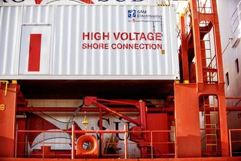 File Shore power to be commissioned at Port of Hueneme