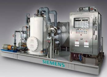 File  the new SiCure® system developed by Siemens Water Technologies.