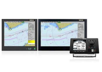 File CS68 Family with AP80 Autopilot showing Track Steer (Image courtesy of Simrad)