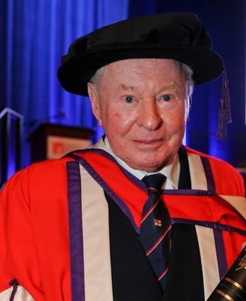 File Sir Donald Gosling: Photo courtesy of Southampton Solent Univ.