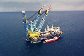 File Saipem 7000 pipe-laying vessel: Photo courtesy of Gazprom