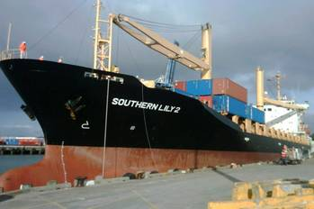 File M/V Southern Lily 2: Photo courtesy of Reef Shipping