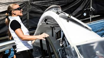 File Helmsperson: Photo courtesy of Spindrift Racing