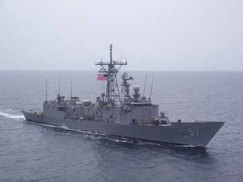 File USS Reuben James: Photo credit USN
