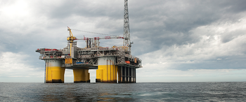 File A STatoil rig in the North Sea (Photo courtesy of Statoil)