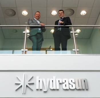 File Hydrasun new Business Development appointments Stephen McIntyre and Derek Murray