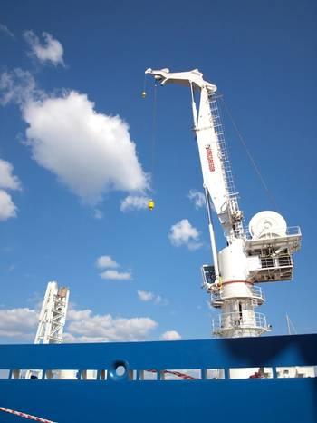 File Subsea Crane: Image credit MacGregor