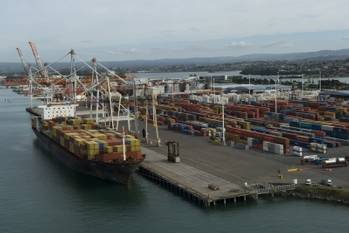 File (Photo courtesy of Port of Tauranga)