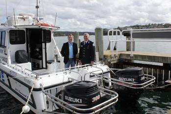 File Signing supply agreement: Photo credit Marine Rescue NSW