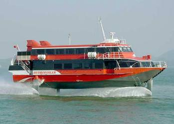 File Hydrofoil Ferry: Photo courtesy of IHS