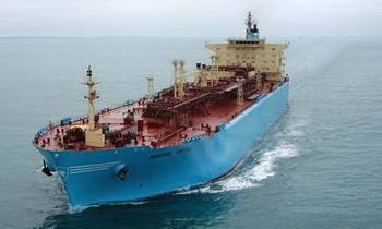 File Maersk MR Tanker: Photo courtesy of owners