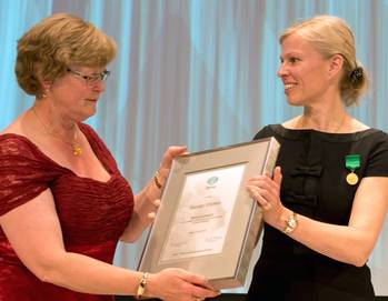 File Gunvor Ulstein Receives Award: Photo credit Ulstein Group