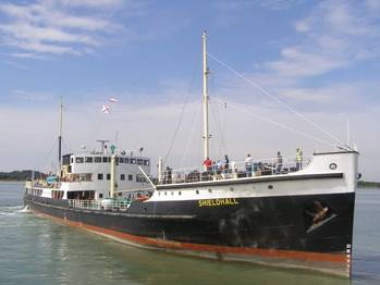 File Steamship Shieldhall: Photo credit A&P