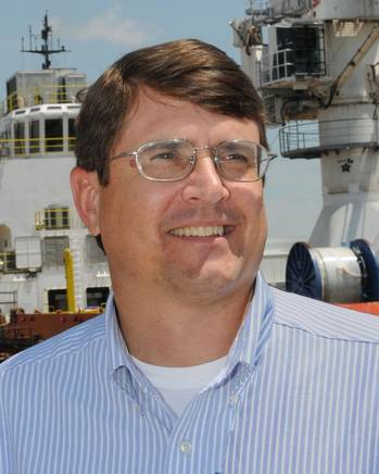 File Tom Godfrey, Domestic Sales and Marketing, Signal Ship Repair (SSR) facility in Mobile, AL.