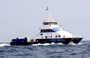 File Topaz's newly built 98.4-ft crew boat, Topaz Fujairah (Photo courtesy Topaz Energy and Marine)