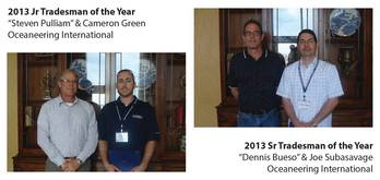 File Snr. & Junr. Tradesmen of the Year: Photo credit VSRA