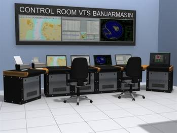 File Traffic Control Station: Photo credit Transas