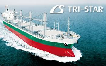 File IS TRI-STAR Bulk Ship: Image credit Imabari Shipbuilding