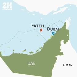 File UAE Fateh File Map: Image credit 2H Offshore